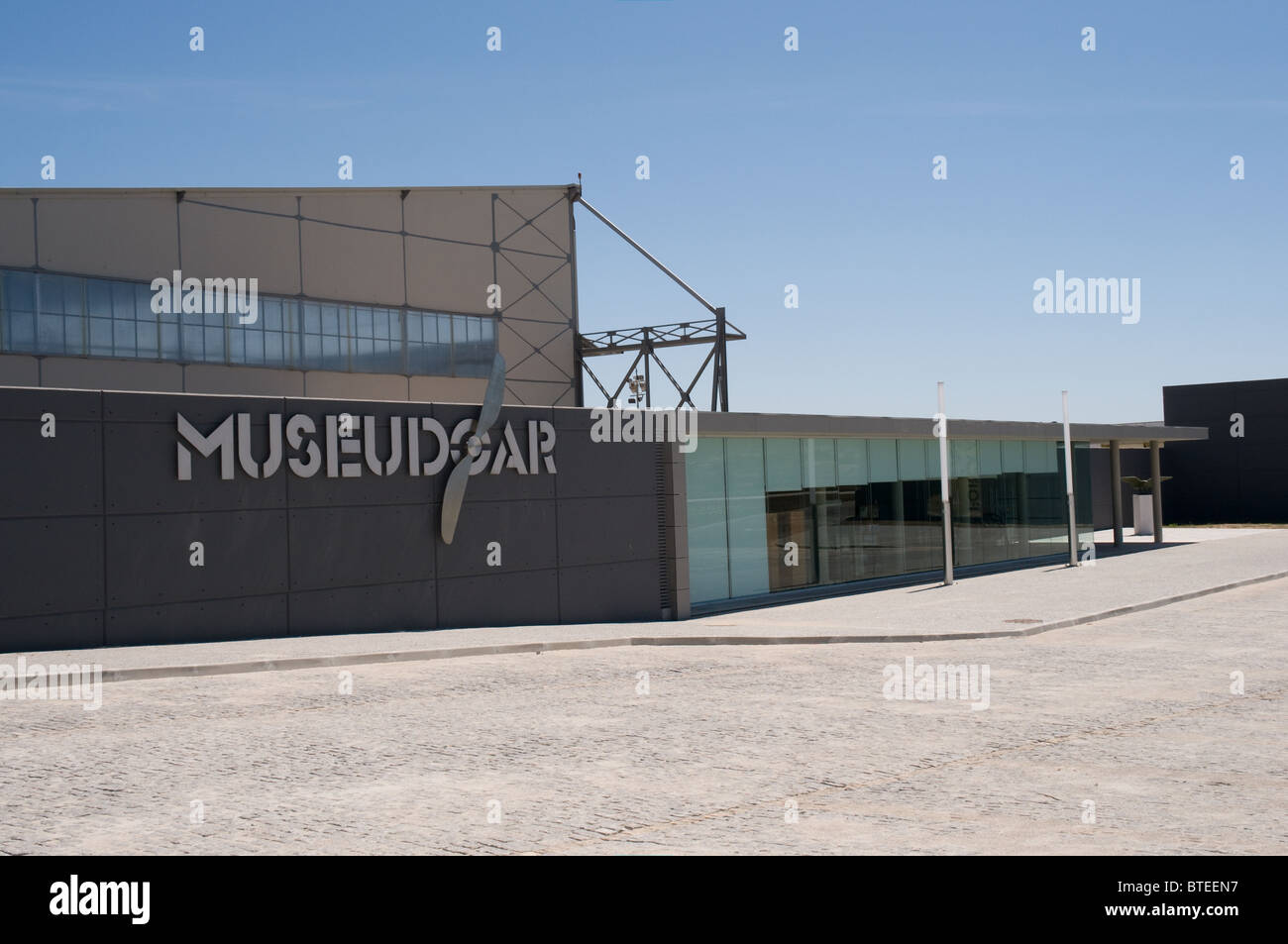 The The Museu Do Ar is based on an Base Aerea No 1 airfield just out Sintra, near Lisbon, Portugal. Stock Photo