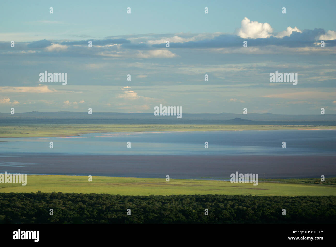 Lake Manyara landscape - Stock Image