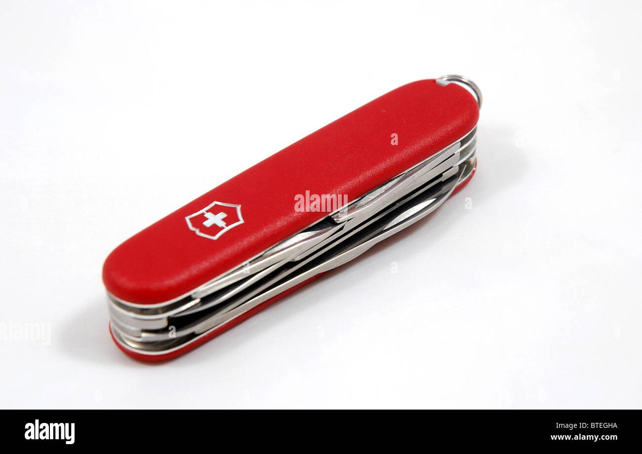 Victorinox Swiss Army knife - survival kit - Stock Image