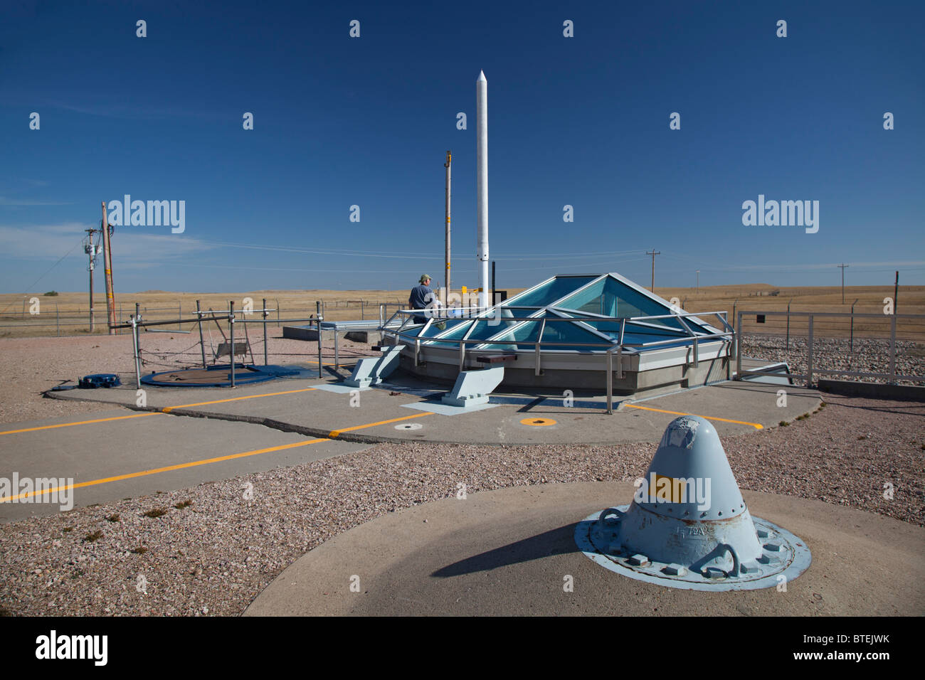 Minuteman Missile National Historic Site - Stock Image