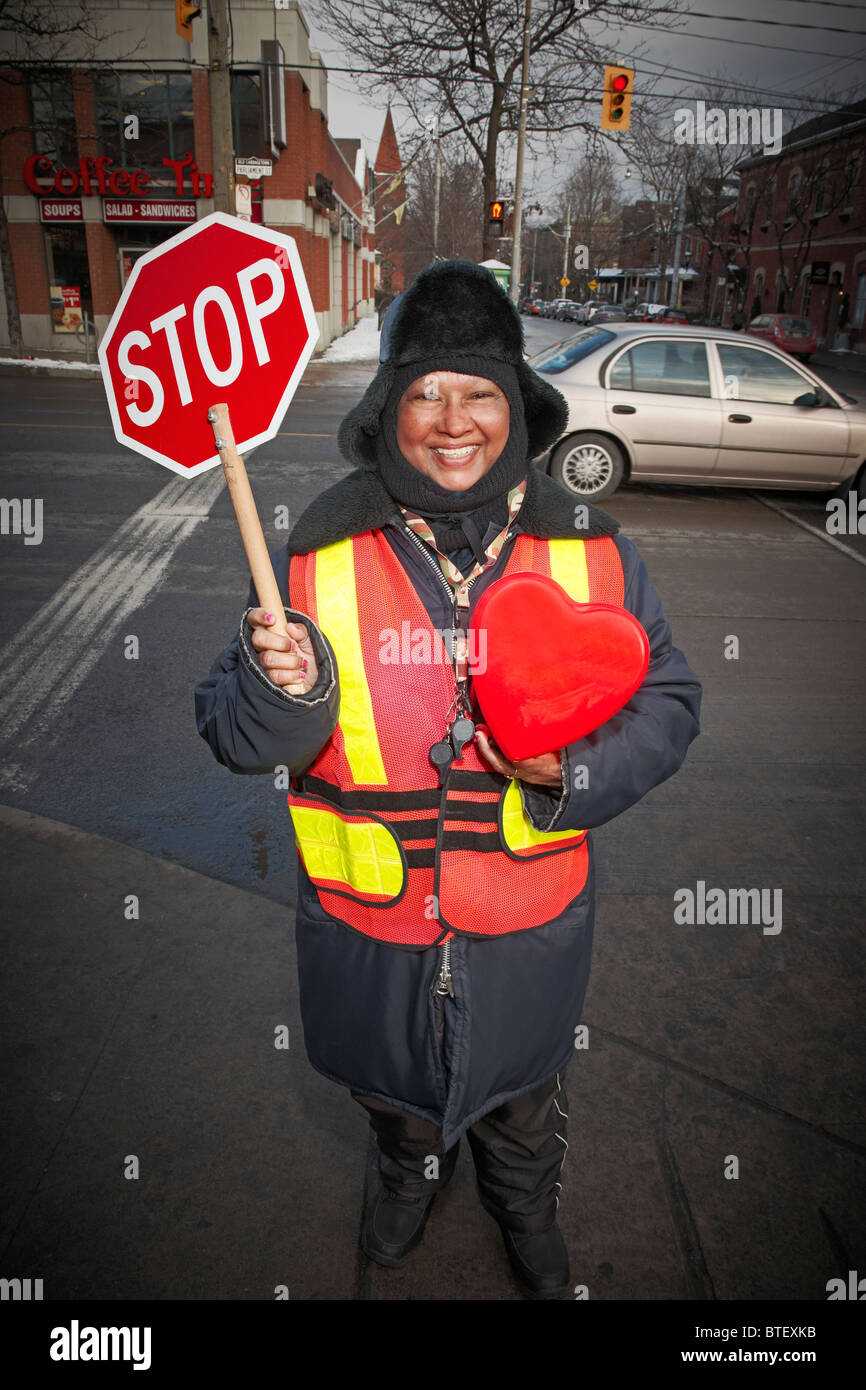 Crossing Guard with stop sign holding heart Cabbagetown Toronto Ontario - Stock  sc 1 st  Alamy & Body Guard Stock Photos u0026 Body Guard Stock Images - Alamy