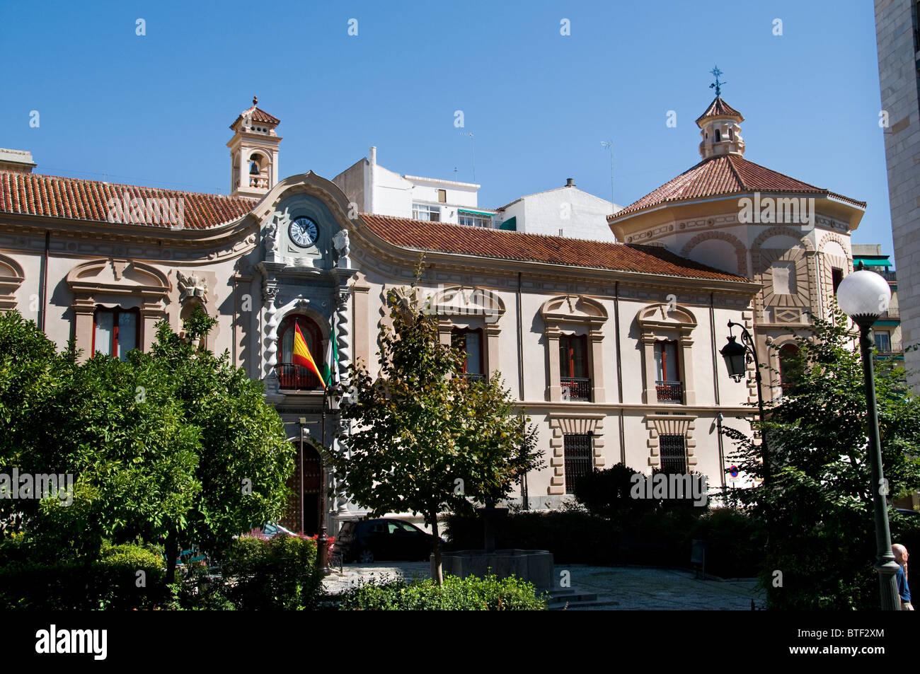 Granada Spain  Consejo consultivo de andalusia Andalusia Advisory Council - Stock Image