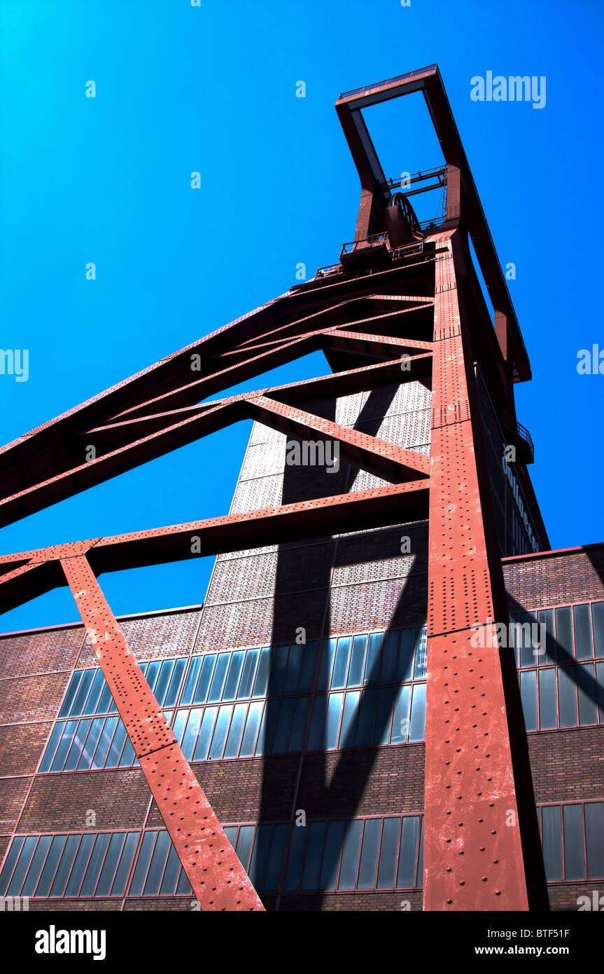 Zeche Zollverein in essen, germany - Stock Image