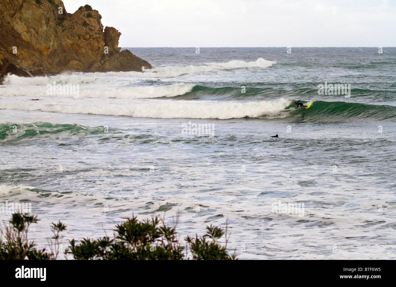 Tunisia Surfing Mediterranean Sea Stock Photo 32296801