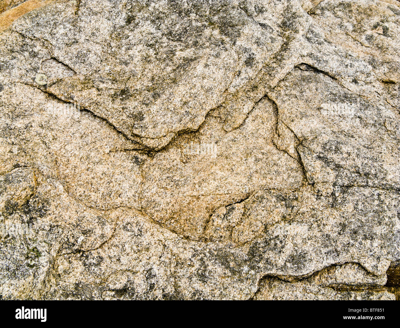 Rock patterns close up - Stock Image