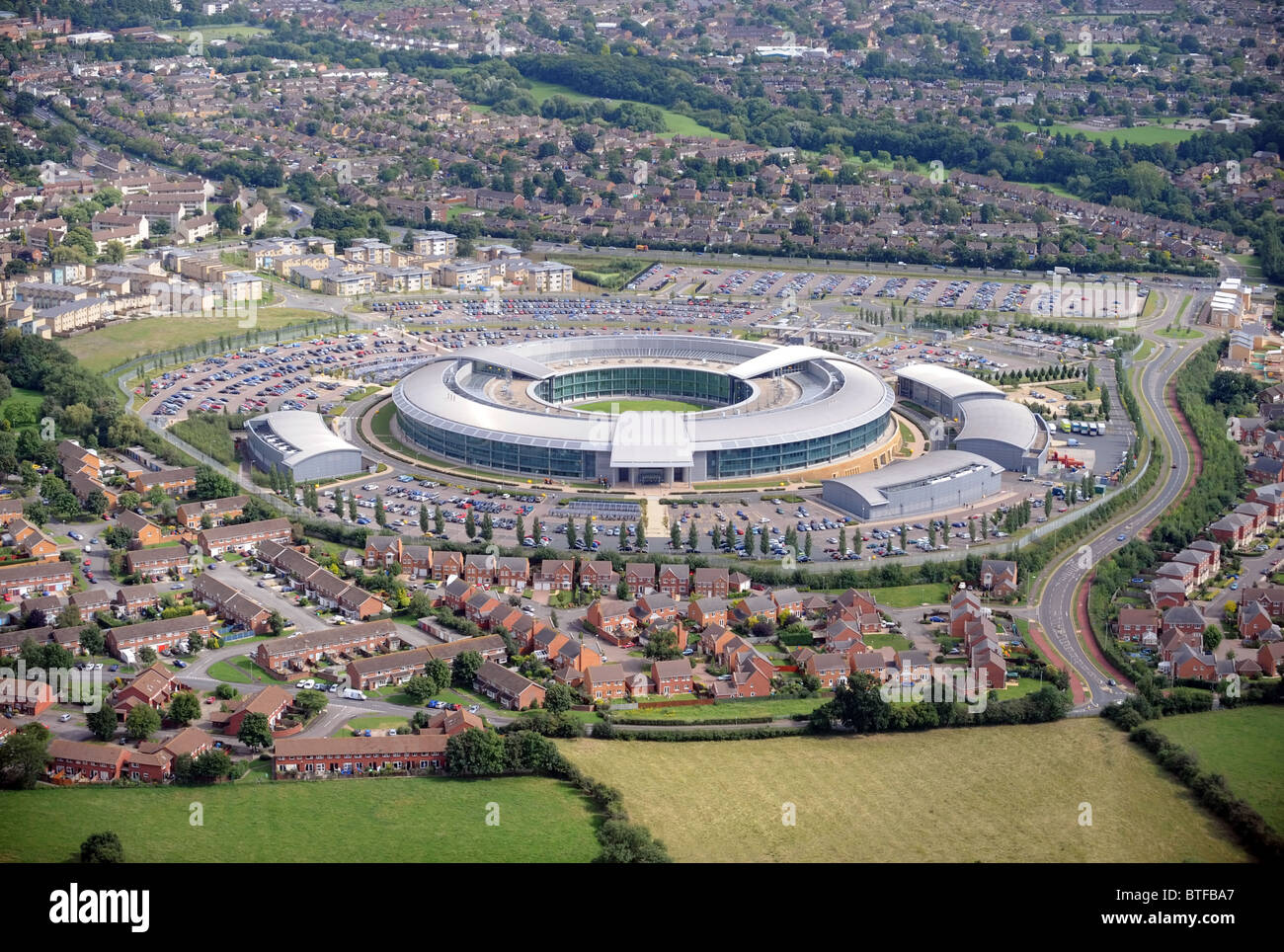 The Government Communications Headquarters (GCHQ) in Cheltenham,  Gloucestershire - Stock Image 81f87bc9f1