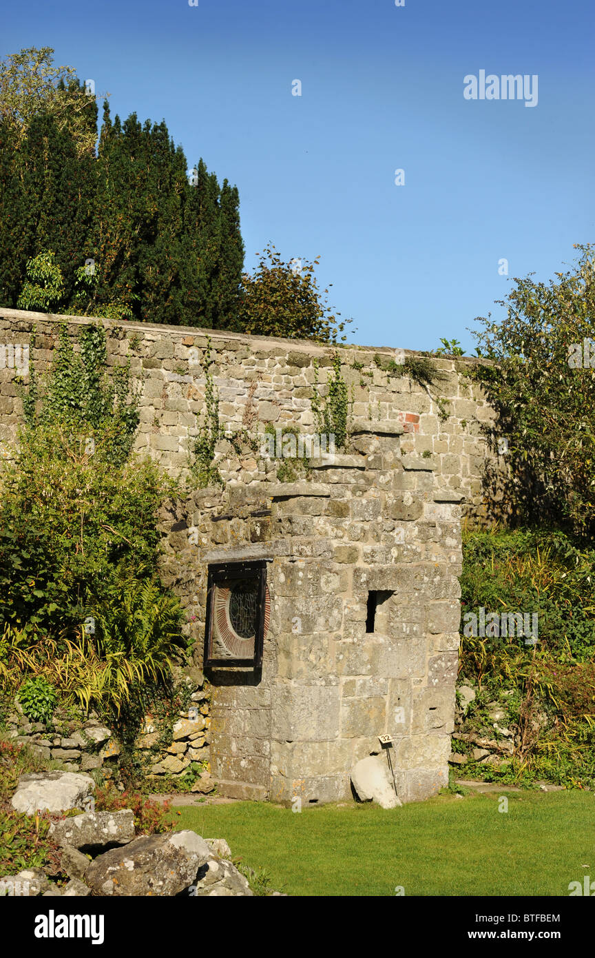 The shrine which once housed the relics believed to be the remains of King Edward The Martyr in the ruins of Shaftesbury - Stock Image