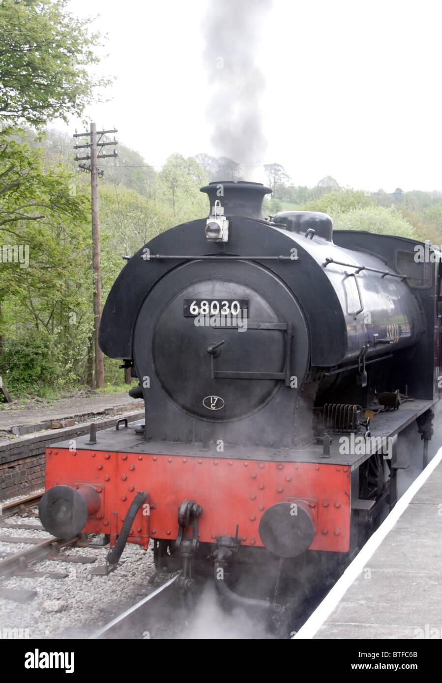 Cheddleton light steam railway - Stock Image