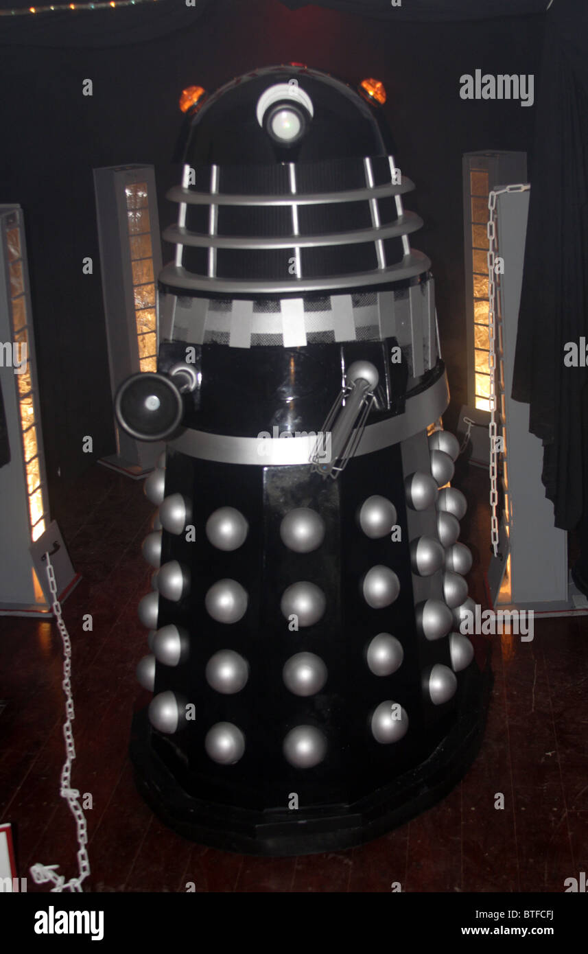 Dalek at Consall station - Stock Image