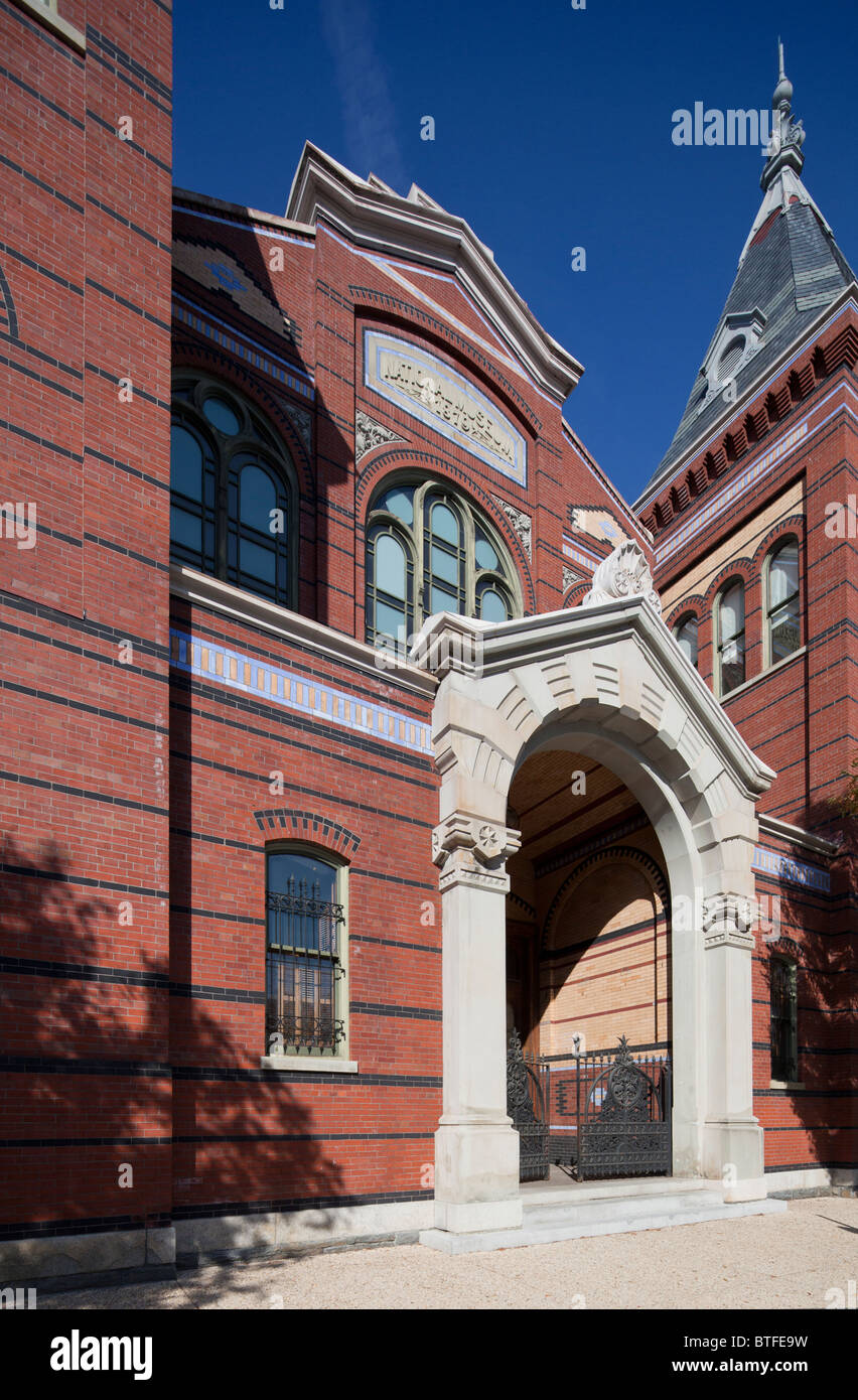 The Arts and Industries Building, National Mall, Smithsonian Institution, Washington, DC, USA - Stock Image