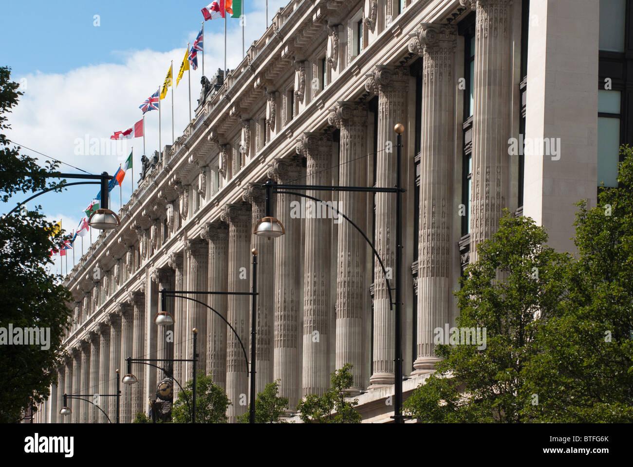 Selfridges department store in Oxford St, London, UK Stock Photo