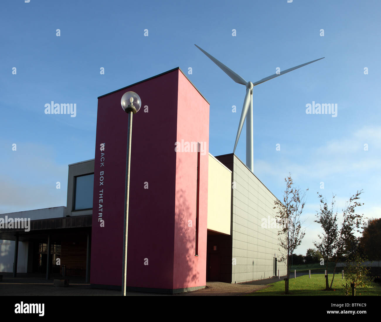 Black Box Theatre, Dundalk Institute of Technology - Stock Image