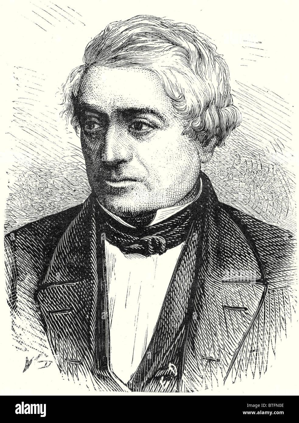Von Denis, creator of the German railways Stock Photo
