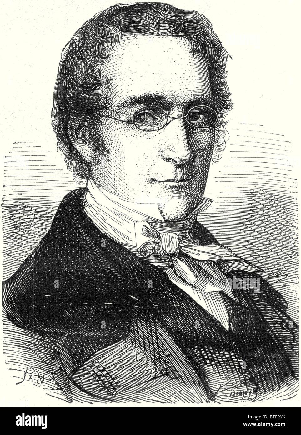 Louis Joseph Gay-Lussac - Stock Image