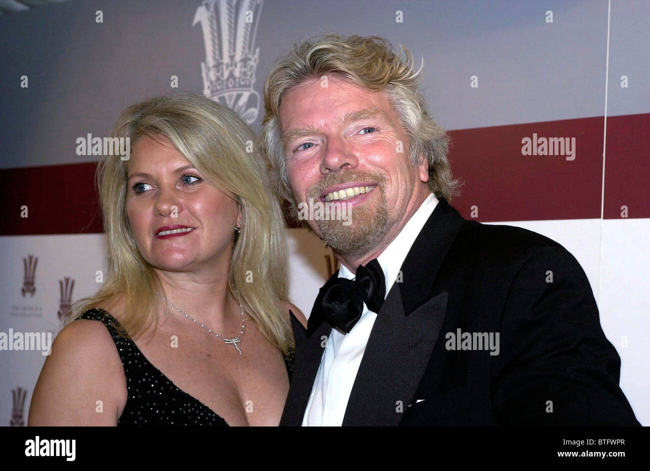 SIR RICHARD BRANSON AND HIS WIFE JOAN, LADY BRANSON, AT A ...