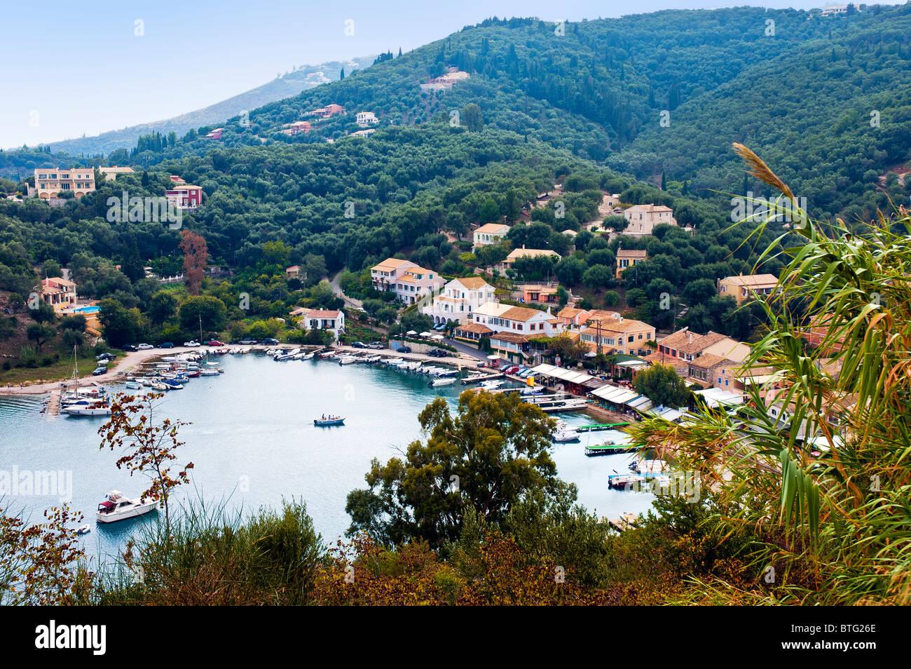 Agios Stefanos, Corfu, Ionian Islands Greece. - Stock Image