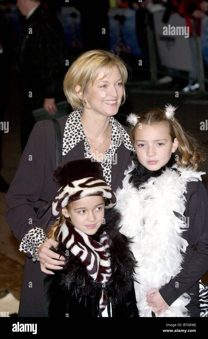ACTRESS GILLIAN TAYLFORTH AT PREMIERE OF WALT DISNEY FILM '102 DALMATIONS' AT THE ODEON CINEMA IN LONDON. - Stock Image