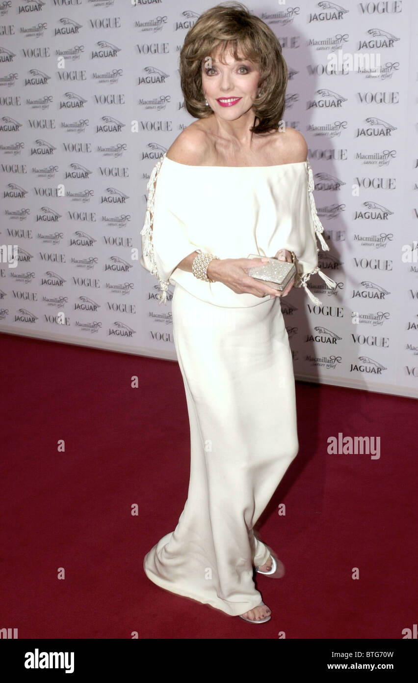f2ffd7d062c ACTRESS JOAN COLLINS AT GALA FASHION SHOW IN AID OF MACMILLAN CANCER RELIEF  CHARITY AT WADDESDON