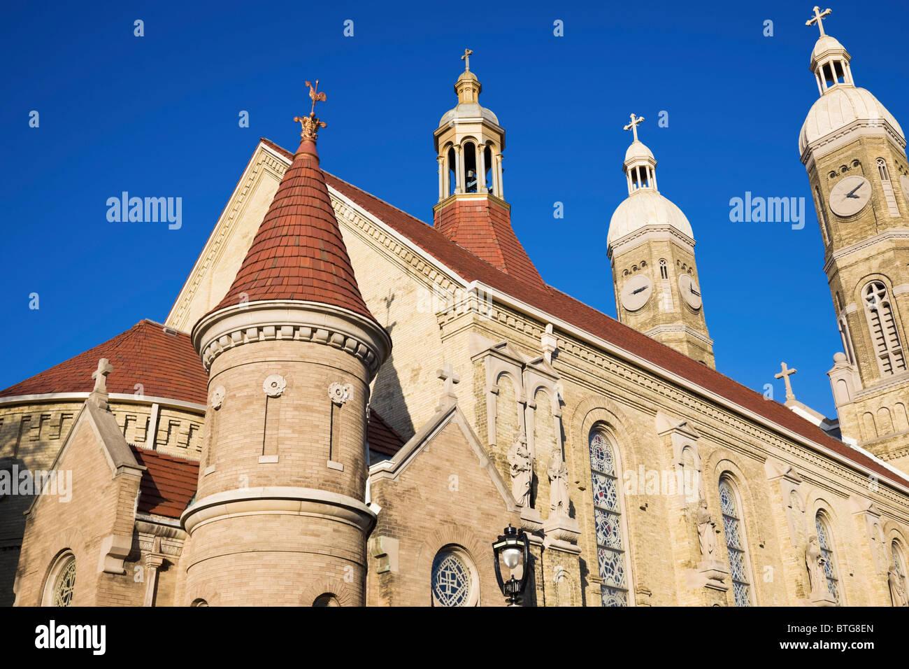 St Stanislaus Catholic Church in Milwaukee - Stock Image