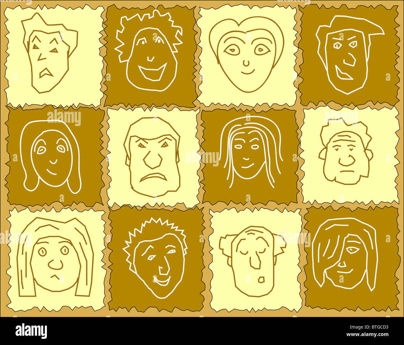 Expressions Cartoon Stock Photos & Expressions Cartoon Stock Images ...