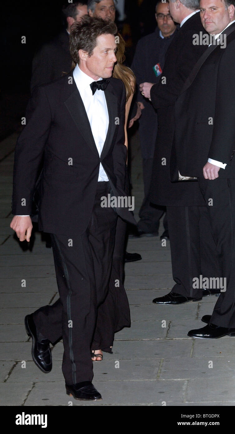 Actor Hugh Grant at banquet hosted by the President of the Republic of Italy at Italian Ambassador's Residence - Stock Image