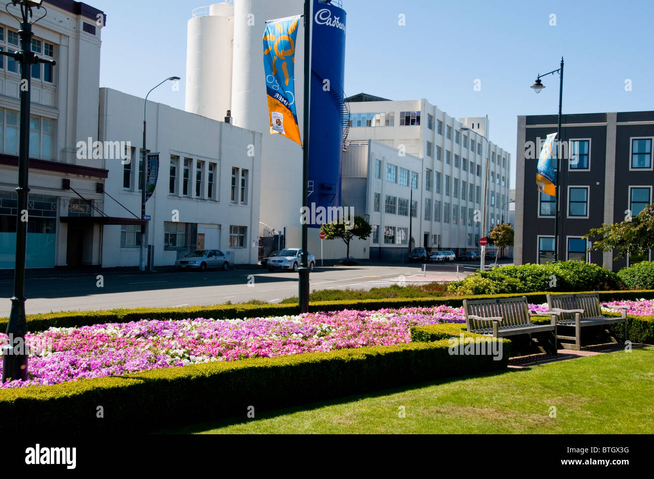 Dunedin,Cadbury Chocolate,Factory,South Island,New Zealand