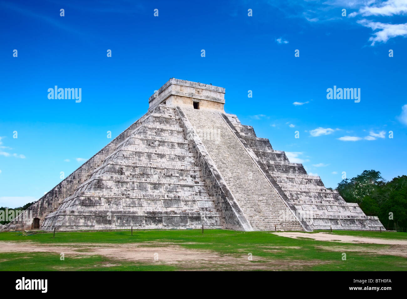 Chichen Itza, Mexico, one of the New Seven Wonders of the World - Stock Image