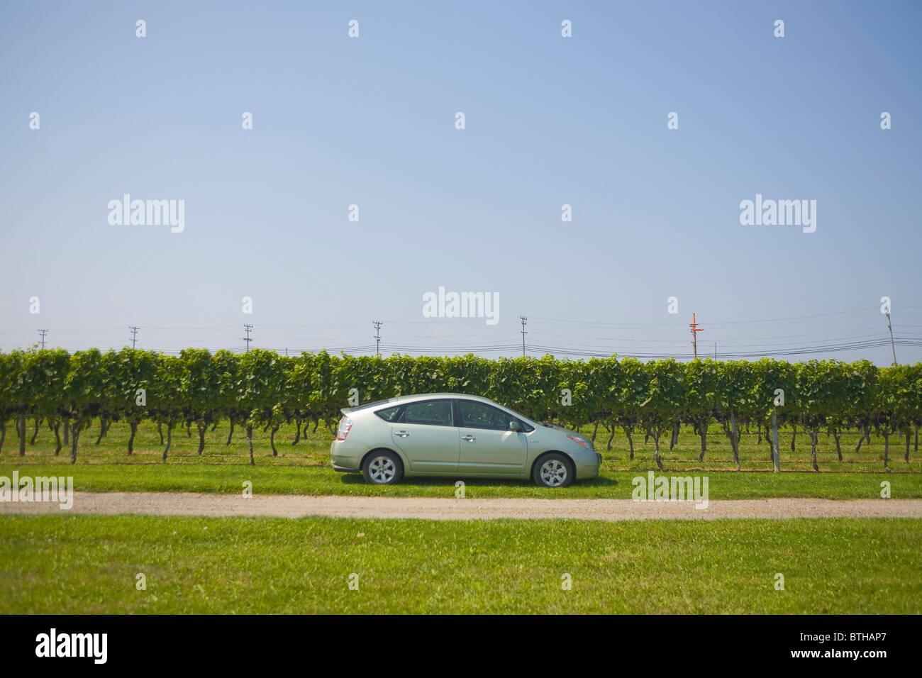 Toyota Prius Hybrid Atuomobile - Stock Image