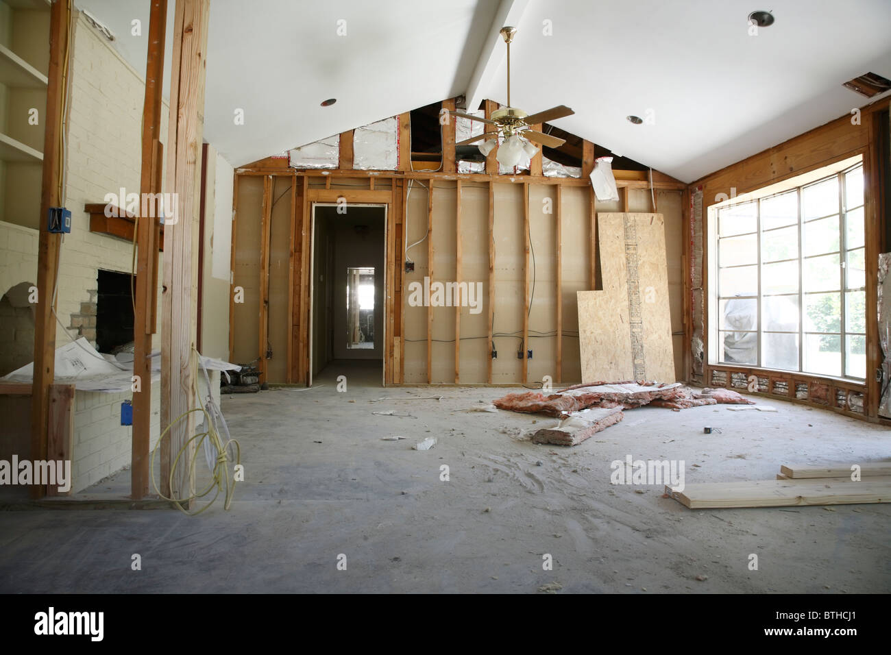Ceiling Fan Abandoned Building High Resolution Stock Photography And Images Alamy