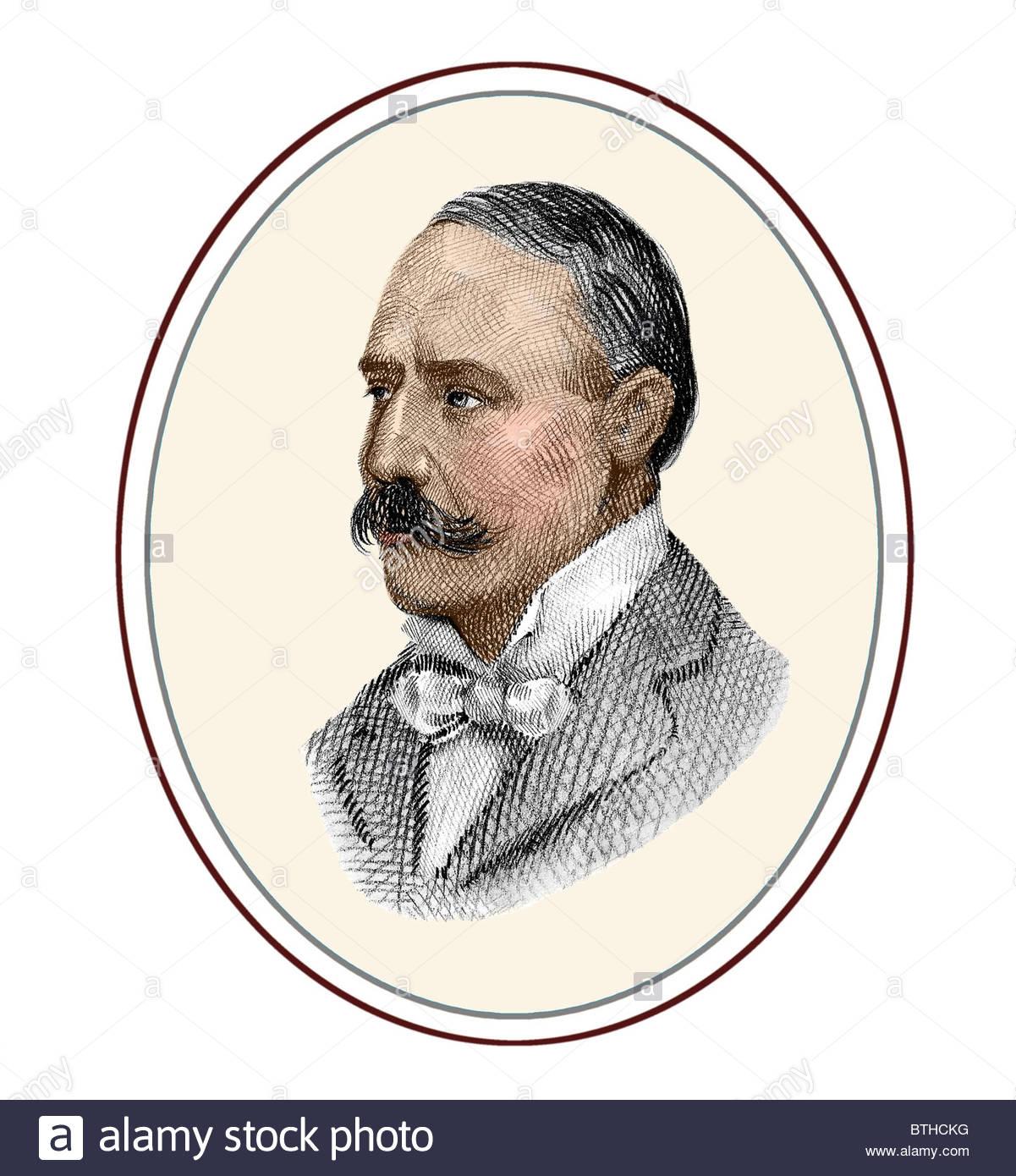 Edward Elgar 1857 1934 English Composer Modern Cross Hatch