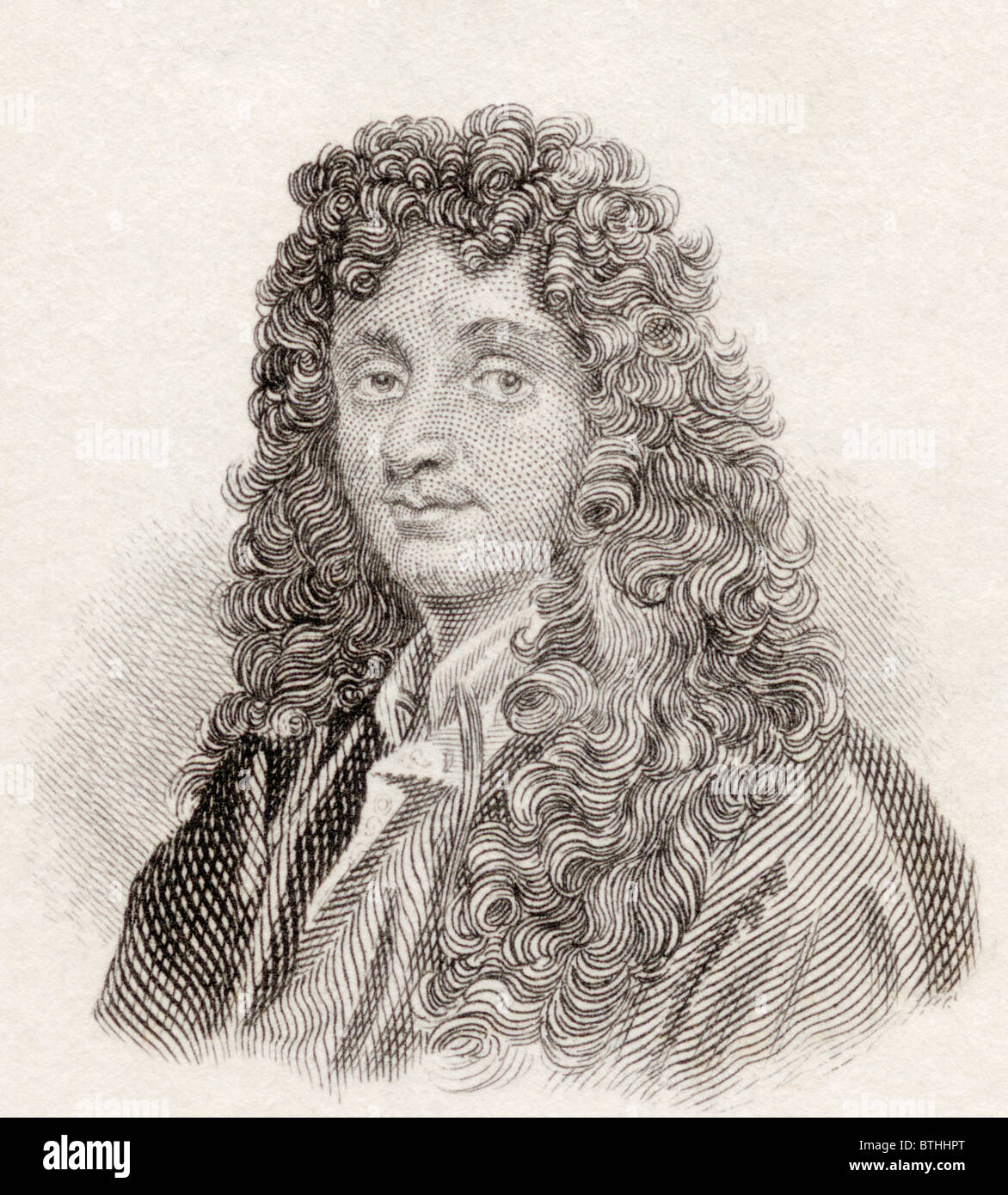 Christiaan Huygens, 1629 to 1695. Dutch mathematician, astronomer, physicist, horologist and writer of early science - Stock Image