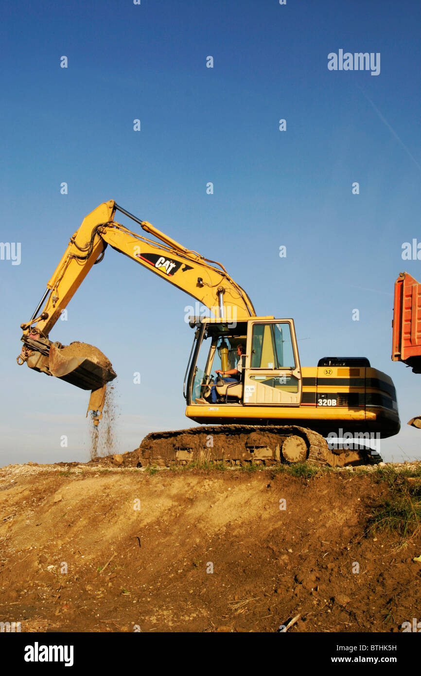 steamshovel Stock Photo