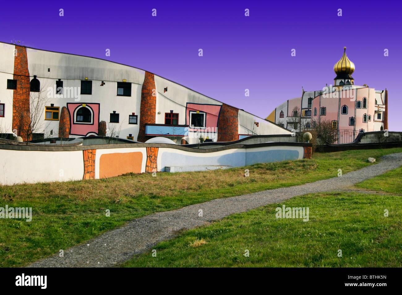 thermal spring blumau - Stock Image
