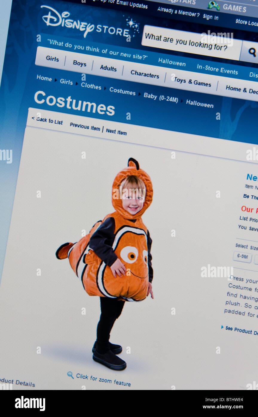 halloween disney store website online stock photo: 32355292 - alamy