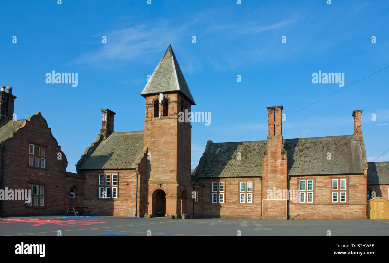 C of E School, in the village of Lazonby, Eden Valley, Cumbria, England UK - Stock Image
