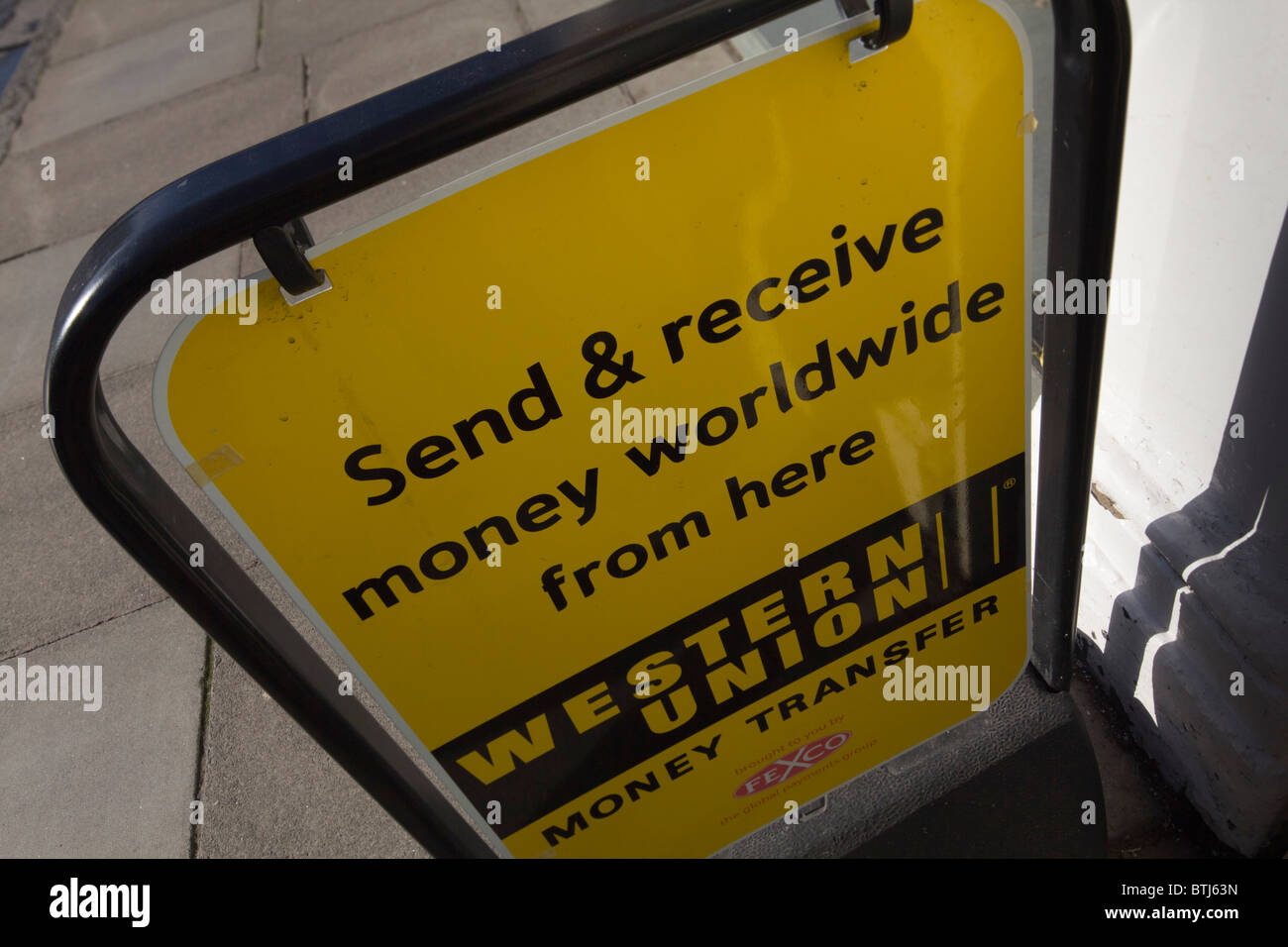 Western Union Sign Stock Photos & Western Union Sign Stock