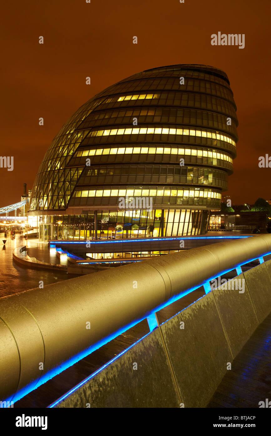 Greater London Authority Building, City Hall, London, England, United Kingdom - Stock Image