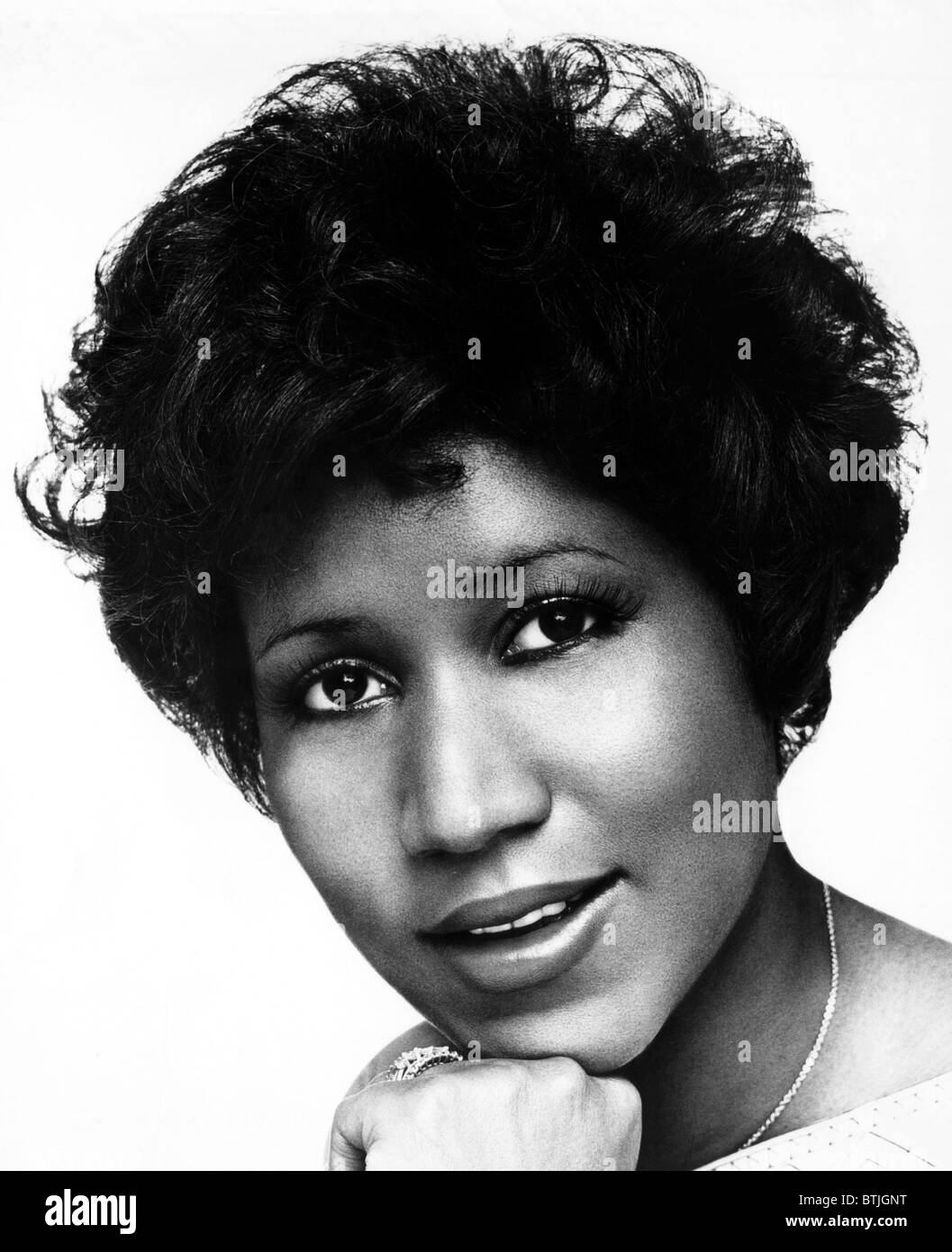 Aretha Franklin, 1970s. Courtesy CSU Archives/Everett Collection. - Stock Image
