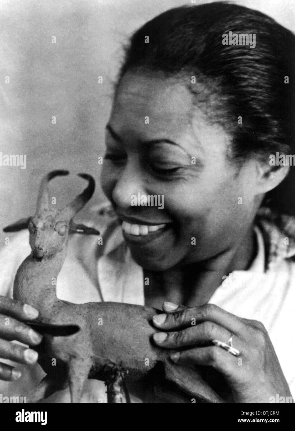 AUGUSTA SAVAGE (1892-1962) Stock Photo
