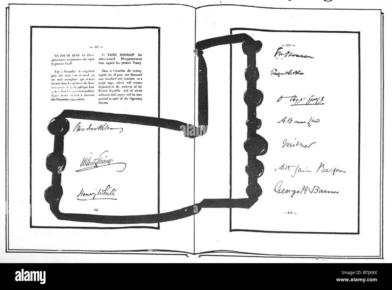 treaty of versailles and world war 2