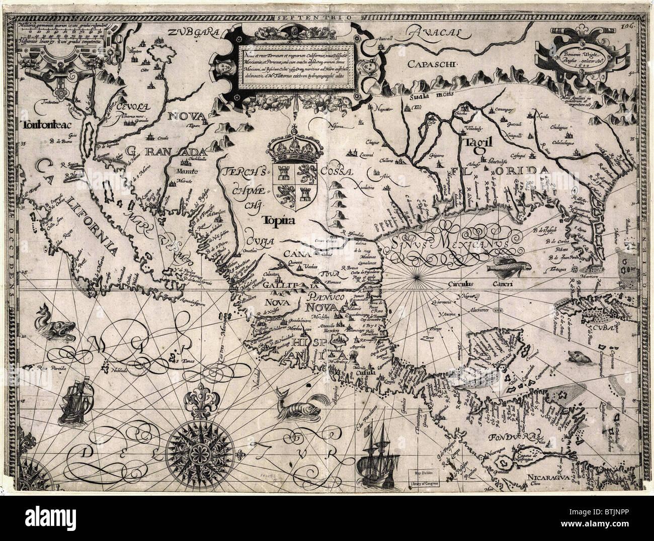 World Map 1600 Stock Photos & World Map 1600 Stock Images - Alamy