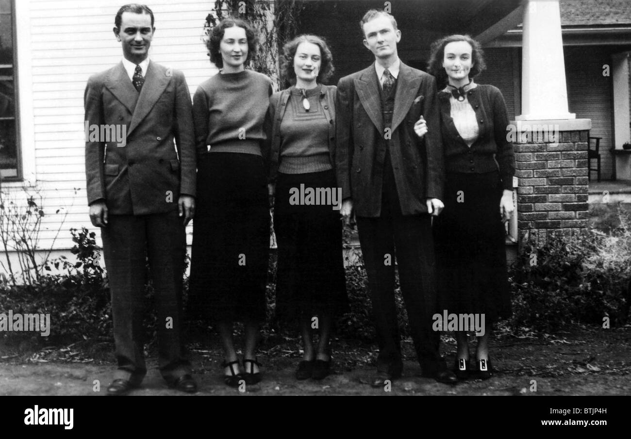 The Johnson brothers and sisters: Lyndon, Rebekah, Luci, Sam, and