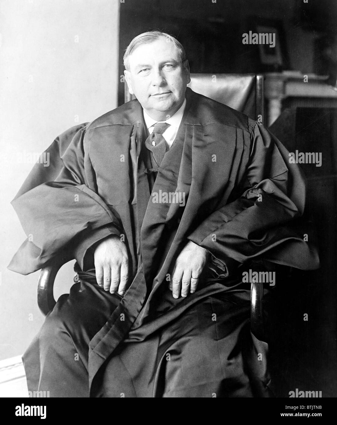 Harlan F. Stone (1872-1946) associate justice of the U.S. Supreme Court (1925–41) and chief justice (1941–46) in - Stock Image