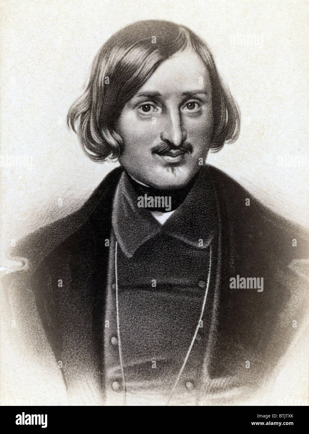 Nikolai Gogol (1809-1852) Russian writer, regarded as the father of realism in Russian literature. - Stock Image