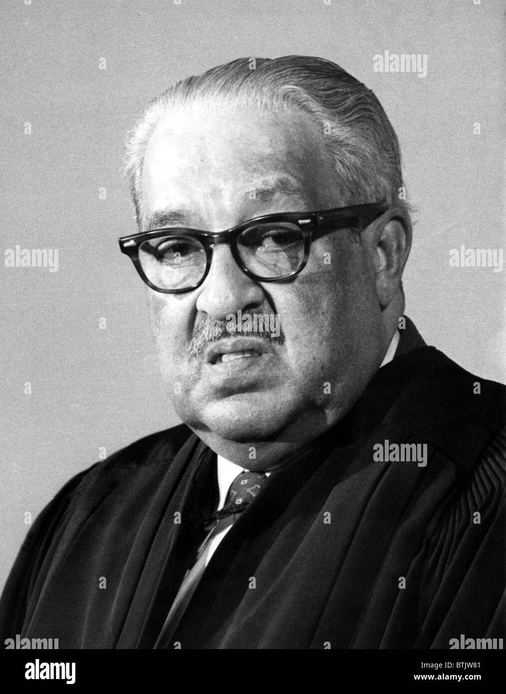 Thurgood Marshall (1908-1993) Associate Justice of the United States Supreme Court, photo:5/5/76 - Stock Image
