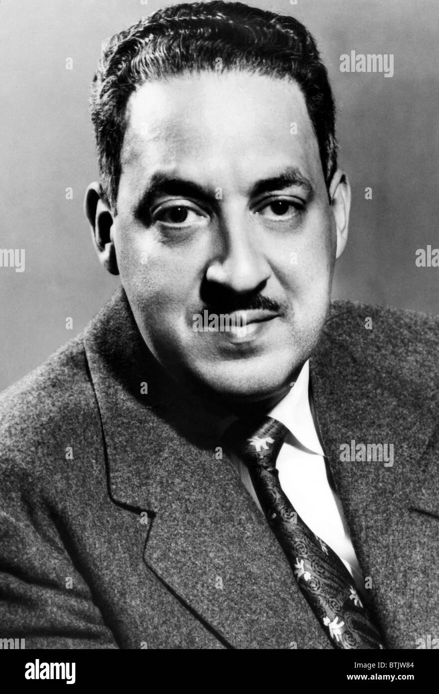 Thurgood Marshall, (1908-1993), Associate Justice of the United States Supreme Court from 1967-1991, c. 1960. - Stock Image