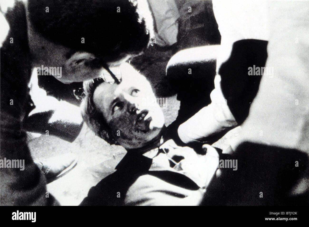 robert kennedy after being shot in los angeles june 5 1968 stock