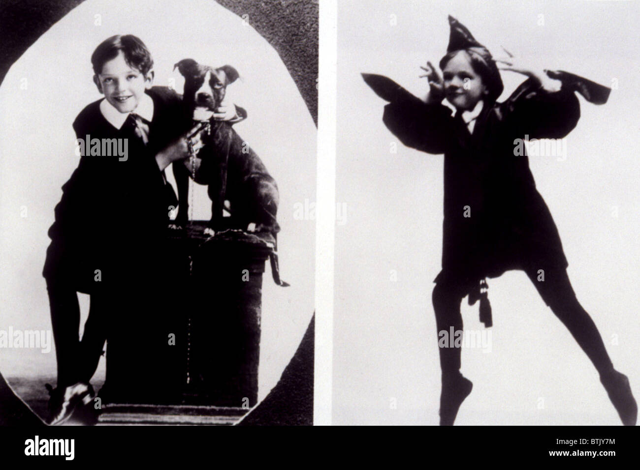 FRED ASTAIRE as a child, c. 1906 - Stock Image