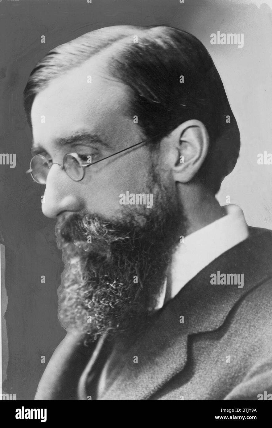Lytton Strachey (1880-1932) English biographer associated with the Bloomsbury group and best known for 'Eminent - Stock Image