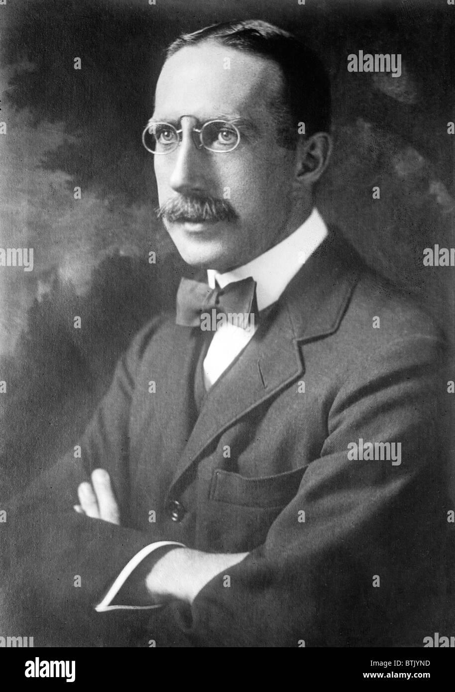 Theodore F. Green. Portrait, ca. 1912 Stock Photo - Alamy